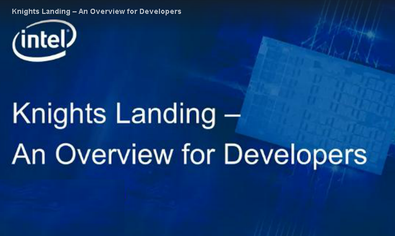 knights-landing-an-overview-for-developers